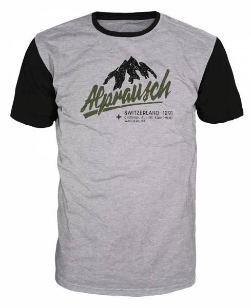 Alprausch Tobi Herren T-Shirt grey melange