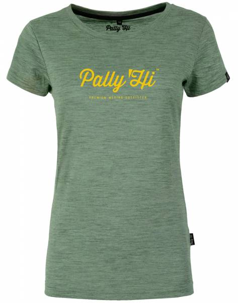 Pally´Hi Script de Femme T-Shirt heather moss