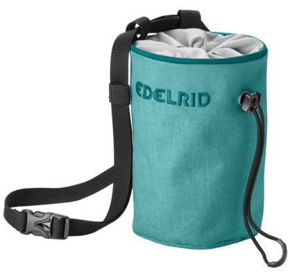 Edelrid Chalk Bag Rodeo small teal green