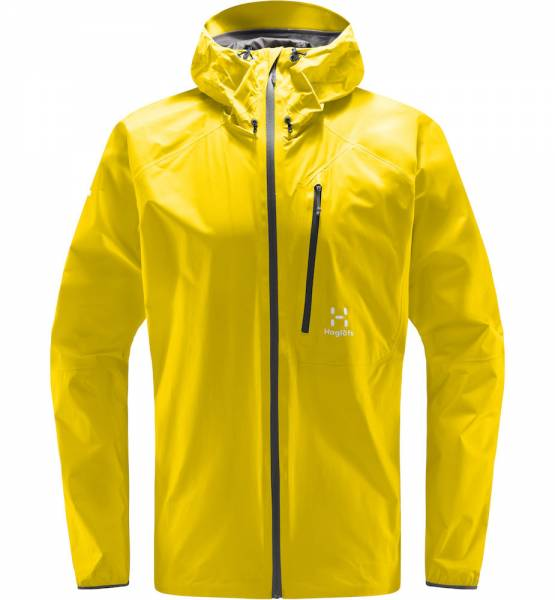 Haglöfs L.I.M. Jacket Men Hardshelljacke signal yellow
