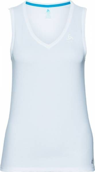 Odlo Active F-Dry Light Suw Top V-neck Singlet Women white