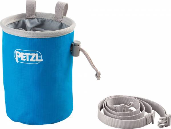 Petzl Bandi Chalkbag methylblau