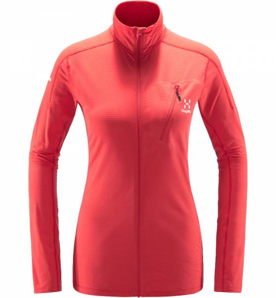 Haglöfs L.I.M. Mid Jacket Women Midlayer hibiscus red