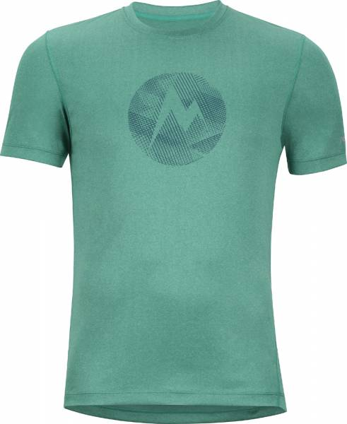 Marmot Transporter Tee SS Men shady glade heather T-Shirt