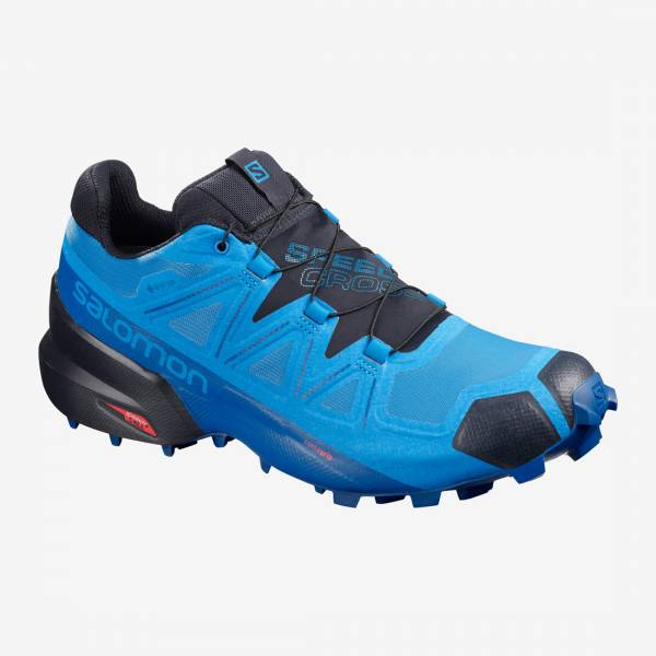 Salomon Speedcross 5 GTX Herren Trailrunningschuhe blue aster/lapis blue/navy blazer