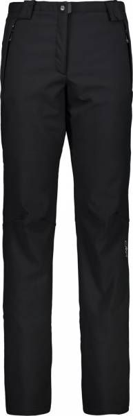 CMP Pant Women Softshellhose nero Kurzgröße