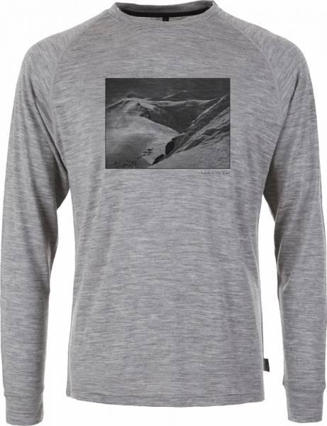 Pally´Hi Glaciology Men Longsleeve heather grey