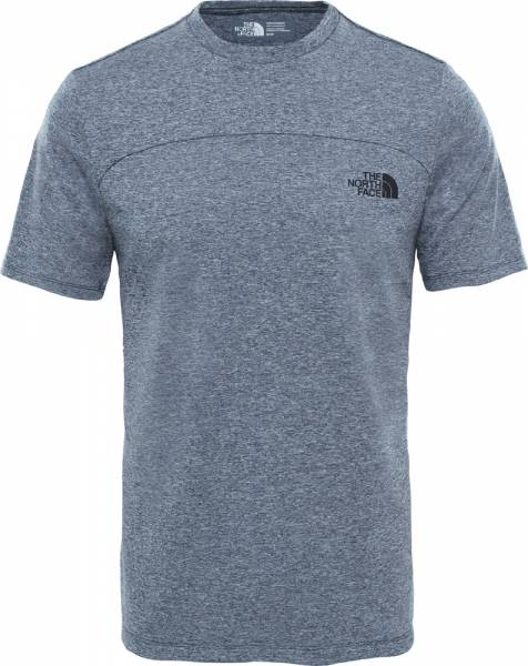 The North Face Purna S/S Tee Men T-Shirt urban navy white heater