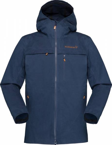 Norrona Svalbard Cotton Jacket Women Baumwolljacke Indigo Night