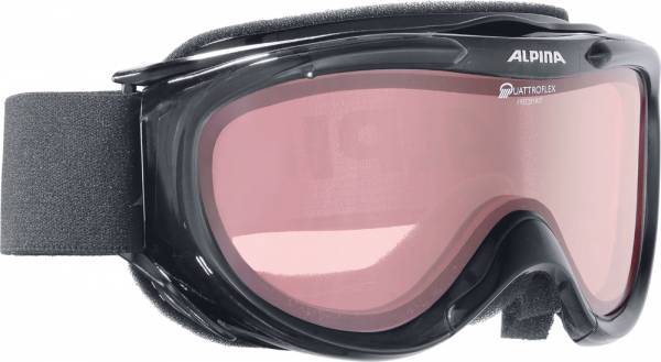 Alpina Freespirit black transparent Skibrille