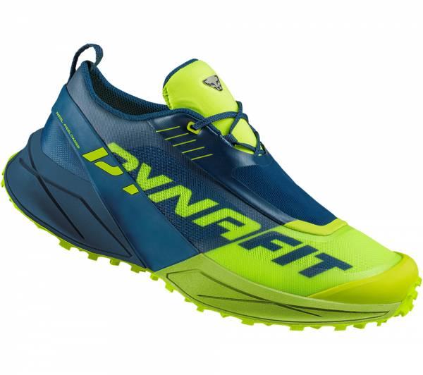 Dynafit Ultra 100 Men Trailrunningschuh Poseidon/Fluo Yellow
