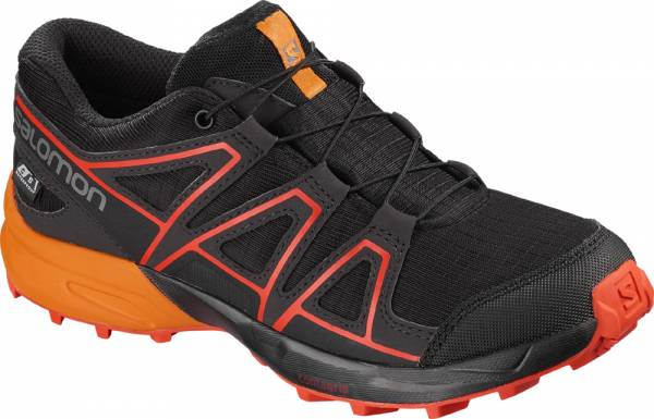 Salomon Speedcross CSWP Junior black/tangelo/cherry to Bergschuhe