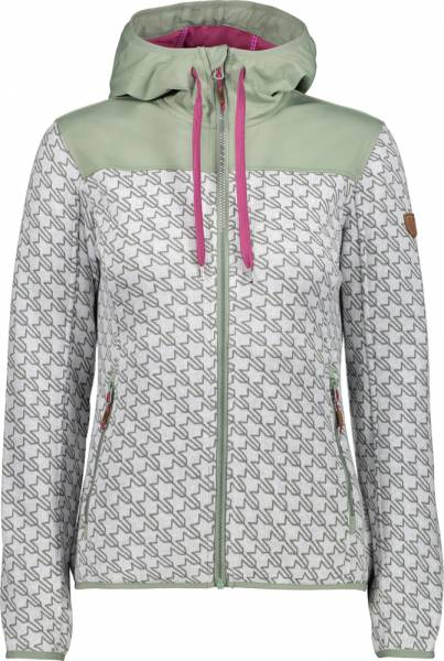 CMP Fix Hood Jacket Women bianco-ice