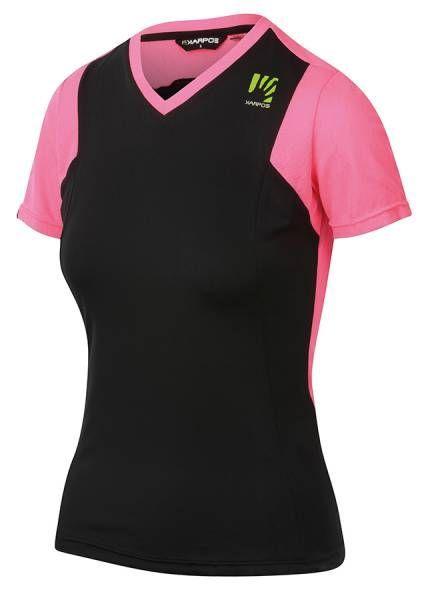 Karpos Giralba Jersey Damen Funktionsshirt black/pink fluo