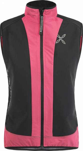 Montura X-Mira Vest Women Weste nero/rosa sugar fluo