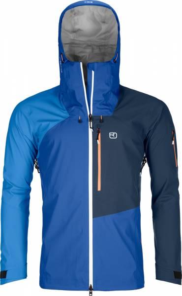 Ortovox 3L Ortler Jacket Herren Hardshelljacke just blue