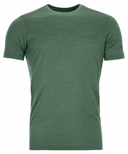 Ortovox 120 Tec Mountain T-Shirt Herren green forest
