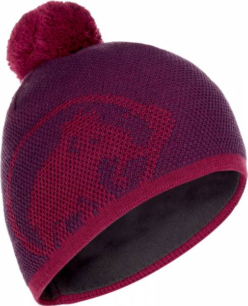 Mammut Snow Beanie grape-beet