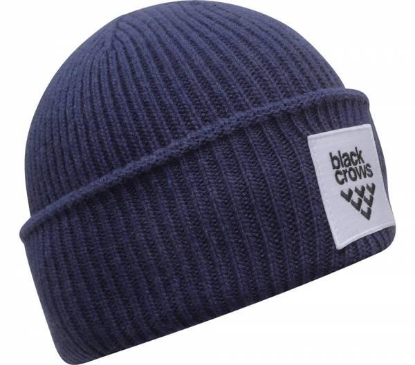 Black Crows Mori Beanie blue Mütze