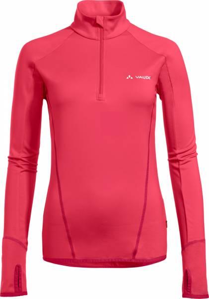 Vaude Livigno Halfzip Women Fleecepullover bright pink