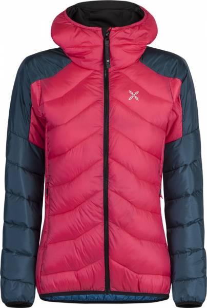 Montura Dust Duvet Jacket Damen Isolationsjacke rosa sugar/blu cenere