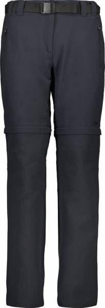 CMP Woman Pant Zip Off antracite (3T51446)