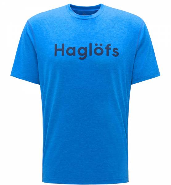 Haglöfs Ridge Tee Men T-Shirt storm blue