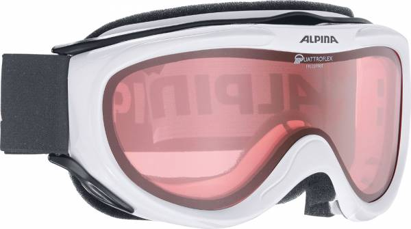 Alpina Freespirit white Skibrille