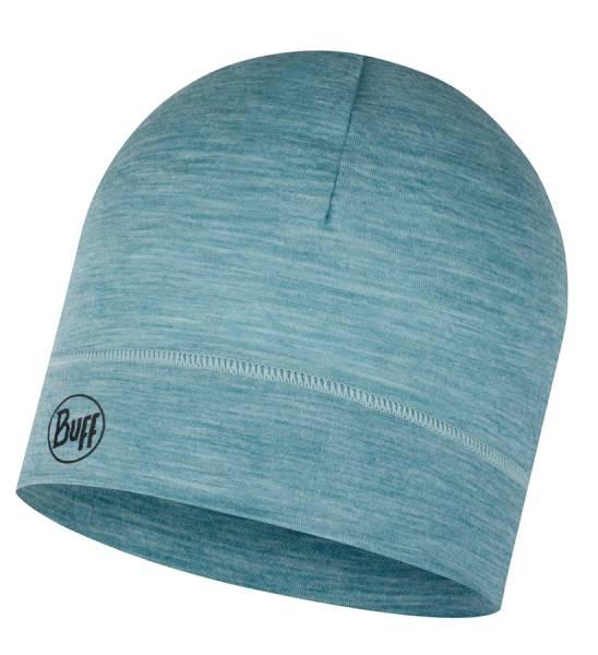 BUFF® Lightweight Merino Wool Hat Mütze solid pool