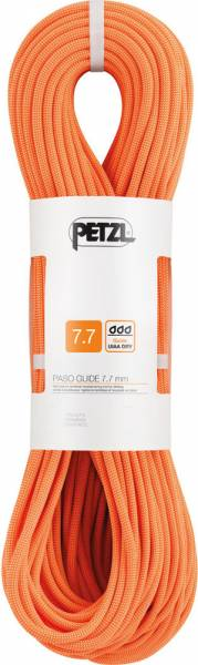 Petzl Paso Guide 7,7mm Kletterseil orange