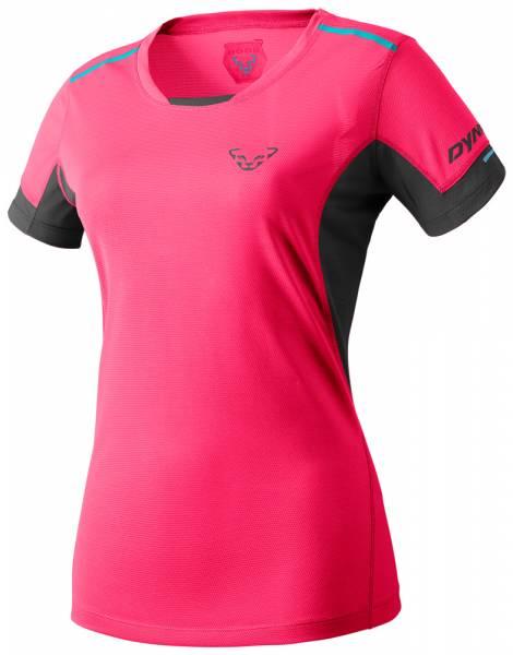 Dynafit Vert 2 Tee Women Runningshirt fluo pink