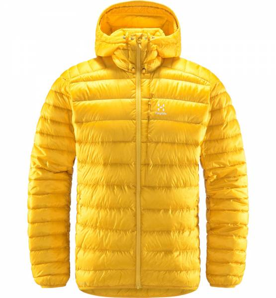 Haglöfs Roc Down Hood Herren Daunenjacke pumpkin yellow