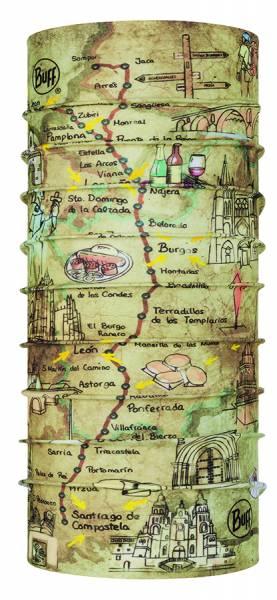 BUFF® El Camino CoolNet UV+ Multifunktionstuch geo topics multi