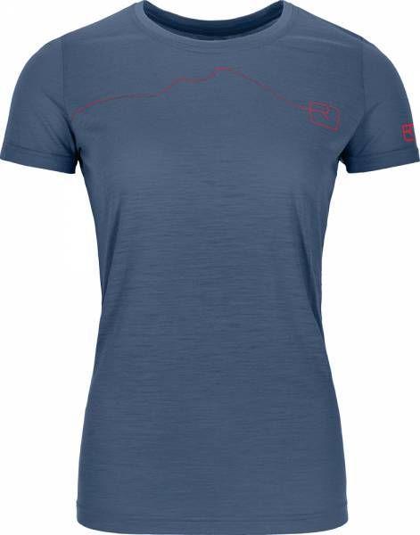 Ortovox 120 Tec Mountain T-Shirt Women night blue