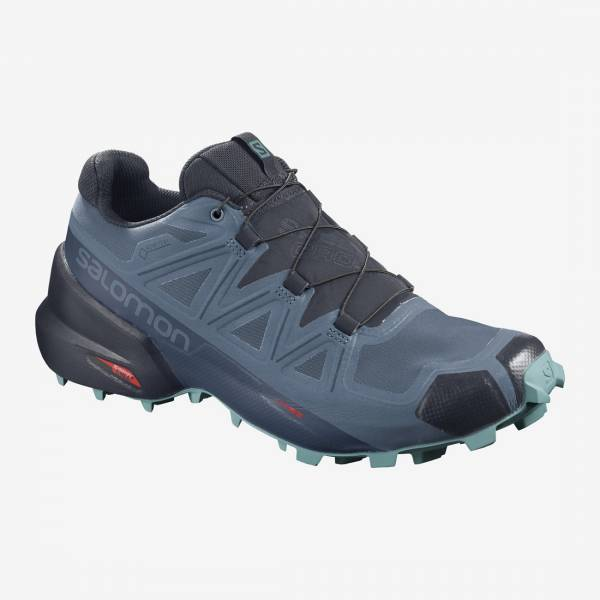 Salomon Speedcross 5 GTX W Damen Trailrunningschuh copen blue/navy blazer/meadowbrook