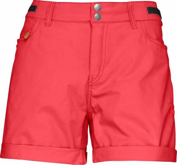 Norrona Svalbard Light Cotton Shorts Women Crisp Ruby
