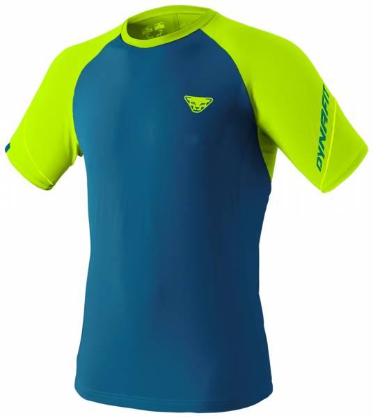 Dynafit Alpine Pro Tee Men Runningshirt fluo yellow/8760