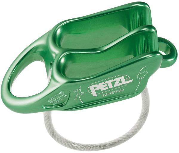 Petzl Reverso Sicherungsgerät grün