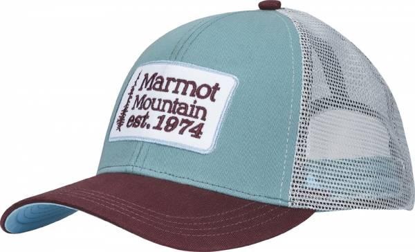Marmot Retro Trucker Hat blue agave Cap