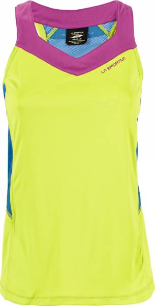 La Sportiva Joy Tank Women apple green/cobalt blue Tanktop