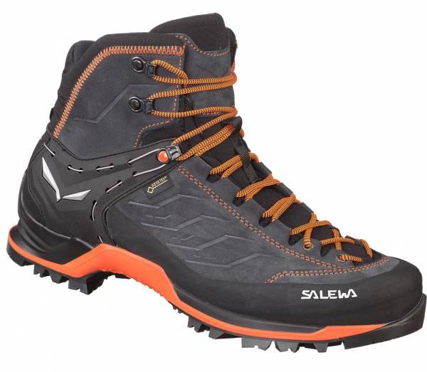 Salewa MTN Trainer MID GTX Men Wanderschuh Asphalt/Fluo Orange