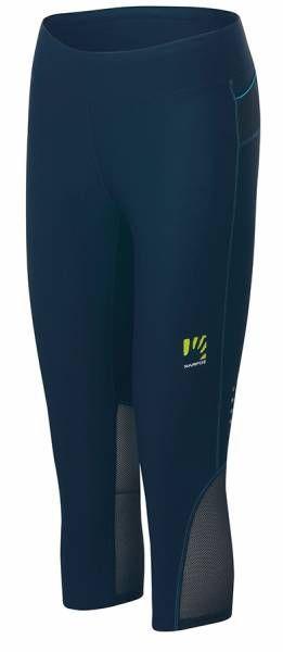 Karpos Quick Evo 3/4 Pants Damen Trailrunning-Hose insignia blue/bluebird