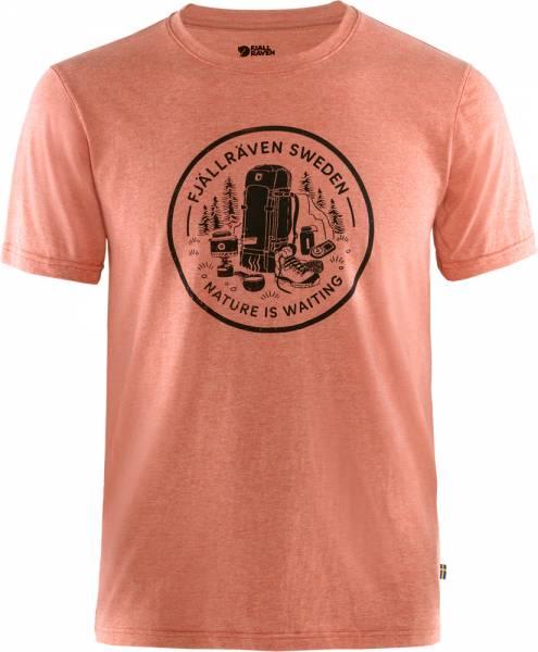 Fjällräven Fikapaus T-Shirt Men rowan red-melange