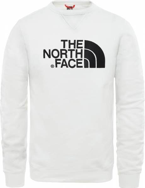 The North Face Drew Peak Crew Pullover white