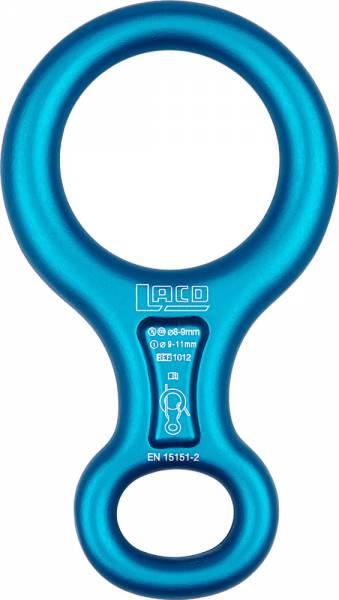 LACD Figure 8 Abseilachter blue