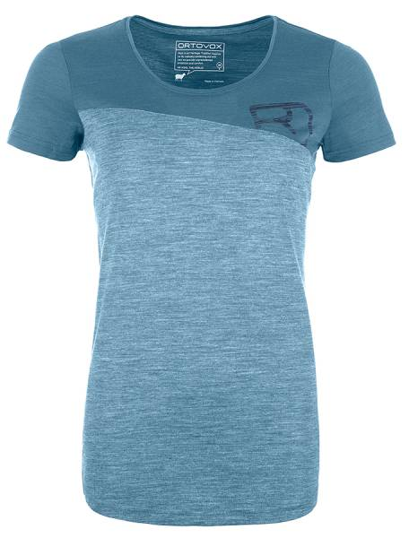 Ortovox 150 Cool Logo TS Damen T-Shirt light blue