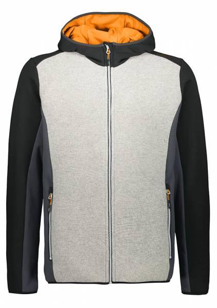 CMP Jacket Fix Hood Herren Midlayer nero (30M2027)