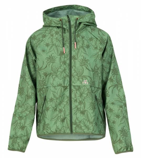 Blutsgeschwister Wetterjacke Windbraut short Damen Windbreaker-Jacke shades of oliv