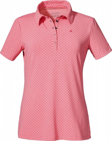 Schöffel Altenberg1 Polo Shirt Women strawberry ice