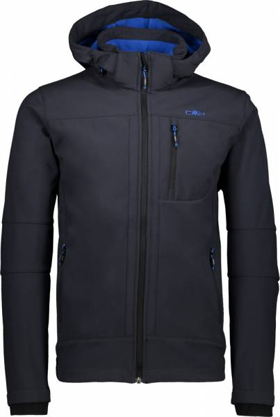 CMP Jacket Zip Hood Men antracite-zaffiro